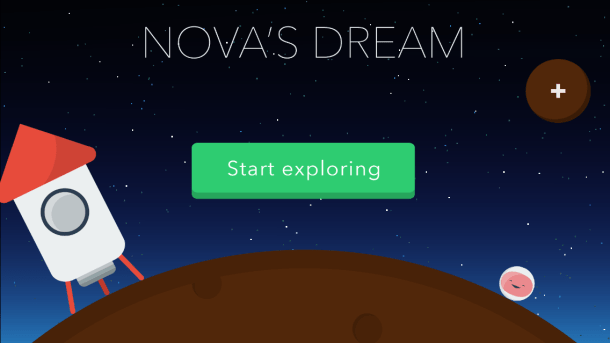 Nova's Dream - Menu Screen | oprainfall