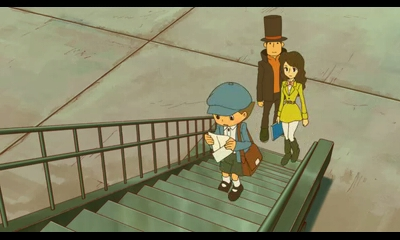 Professor Layton and the Azran Legacy | The Team on a Trip