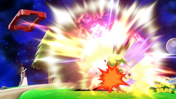Zelda's Din's Fire Hits Pikachu - Smashing Saturdays | oprainfall