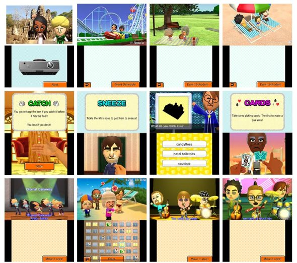 Tomodachi Collection - English Screens | oprainfall