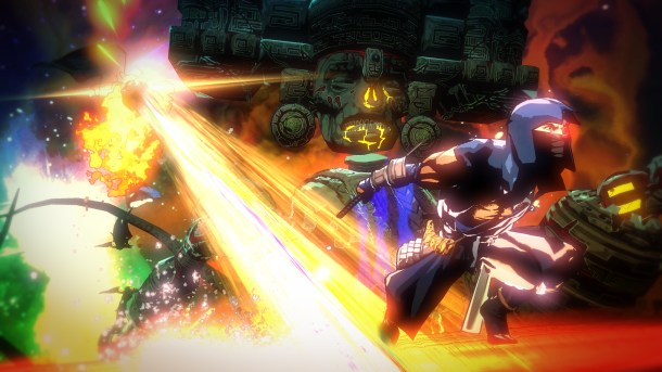 Yaiba: Ninja Gaiden Z Boss Screen