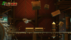 Donkey Kong Country: Tropical Freeze   Minecart
