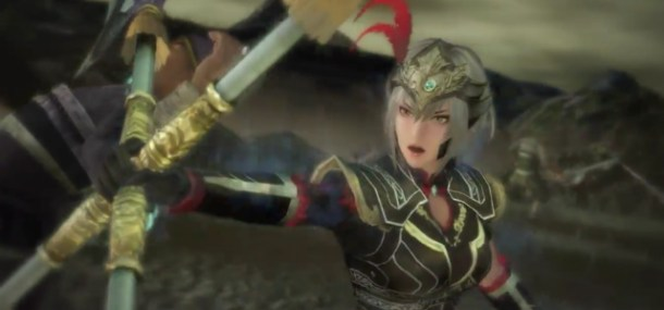 Lu Lingqi Uses Spinning Death Blades in Dynasty Warriors 8 Xtreme Legends Complete Edition Trailer