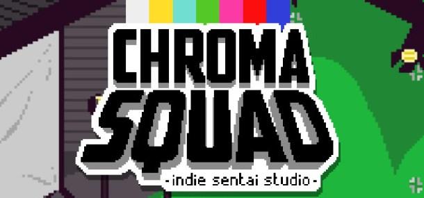 Chroma Squad Logo Featured