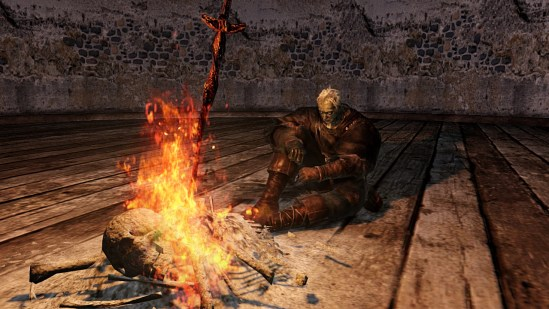 Dark Souls II | Resting at a Bonfire