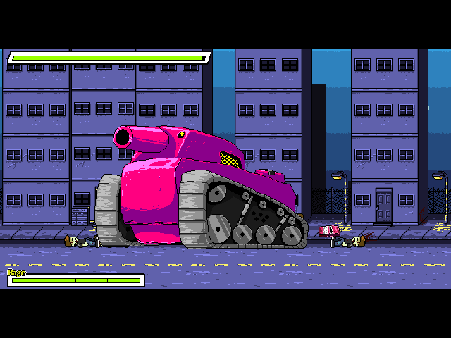 Fatal Theory | Tank