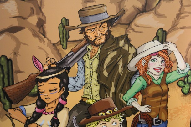 Boot Hill Heroes Characters—PAX East 2014 | oprainfall