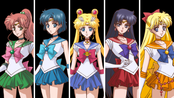 Inner Senshi | Sailor Moon Crystal