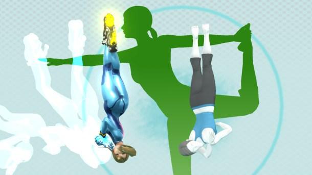 Zero Suit Samus vs. Wii Fit Trainer at Wii Fit Studio - Smashing Saturdays   oprainfall