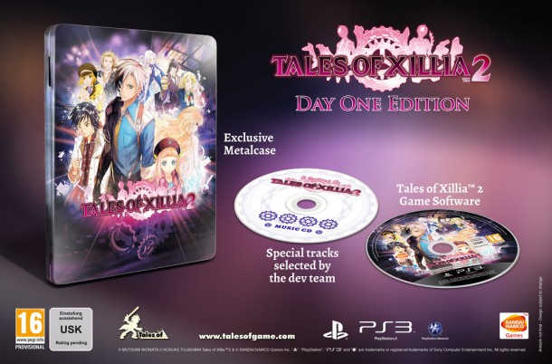 Tales of Xillia 2 Day 1 Edition - Europe | oprainfall