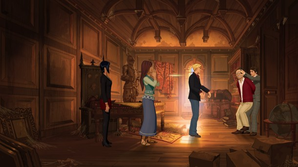 Broken Sword 5 | Eva and Marquez