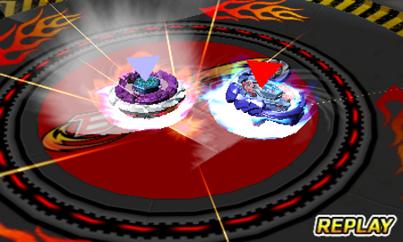 Beyblade Evolution | Battle Replay