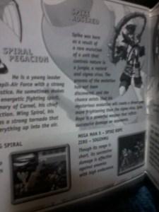 Mega Man X5 | Manual Pic