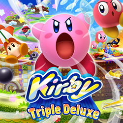 Kirby: Triple Deluxe - Box Art | oprainfall