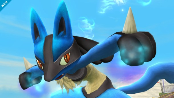 Lucario Smash Bros 4