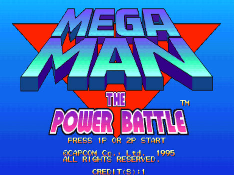 Megaman the Power Battle | Logo