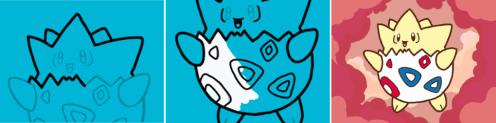 Pokemon Art Academy - Drawing Togepi