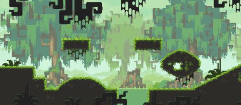 Adventures of Pip - Swamp mockup