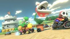 Mario Kart 8 - Yoshi with Piranha Plant