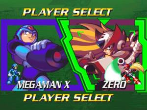 Mega Man X4 | Player Select