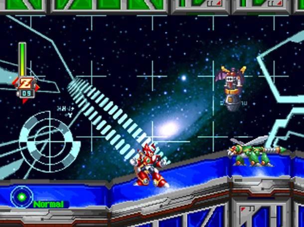 Mega Man X5 | Zero Dark Dizzy Stage