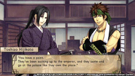 Hakuoki: Stories of the Shinsengumi | Character Interaction