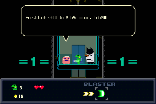 Kero Blaster | Characters