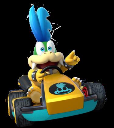 Mario Kart 8 - Larry | oprainfall