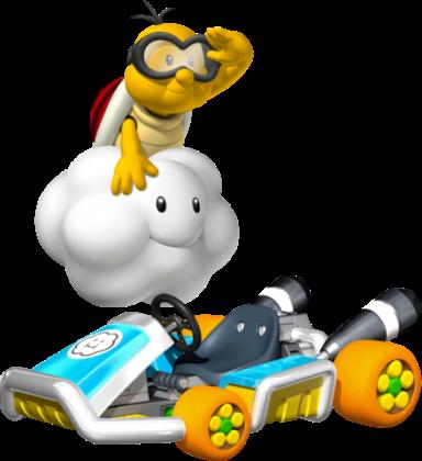 Mario Kart 8 - Lakitu | oprainfall