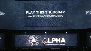 Alpha on June 12th, 2014 | Destiny [E3 2014]