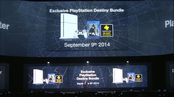 White PS4 Bundle | Destiny [E3 2014]