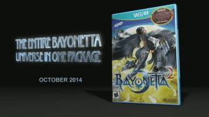 E3 2014 Nintendo - Bayonetta 2 Box Art