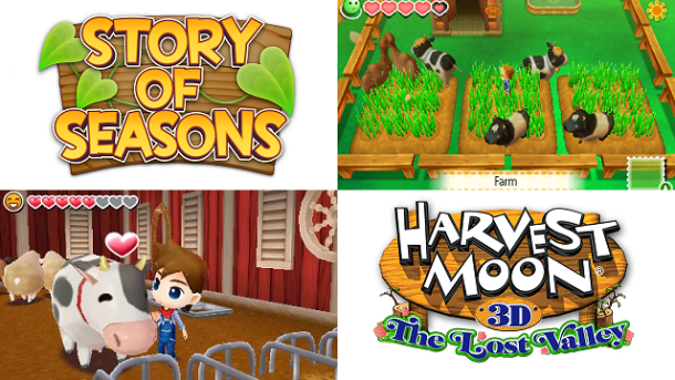 Harvest Moon vs. Story of Seasons
