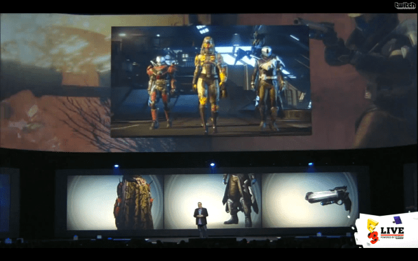 E3 2014 Sony Conference - Destiny
