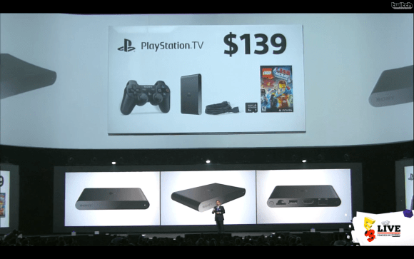 E3 2014 Sony Conference - PlayStation TV Bundle