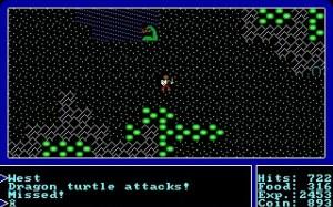 Ultima (1987 DOS Version) - Battle