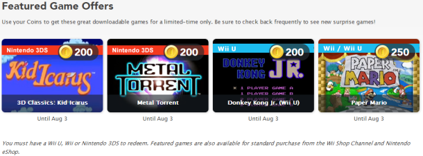 Club Nintendo Rewards - July 2014 | oprainfall