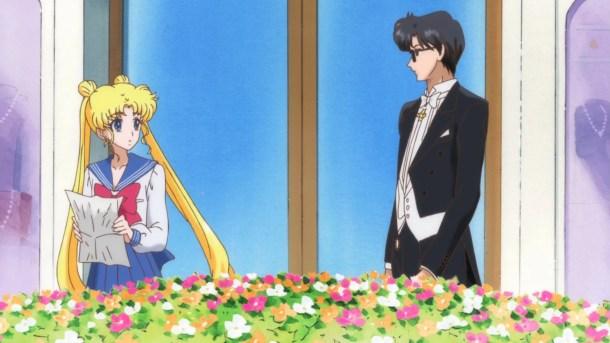 Usagi Meets Mamoru | Sailor Moon Crystal Episode 1