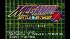 VC Mega Man Battle Network - Title Screen