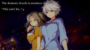 Senran Kagura Shinovi Versus - English Screenshot | Can't See the Demonic Orochi