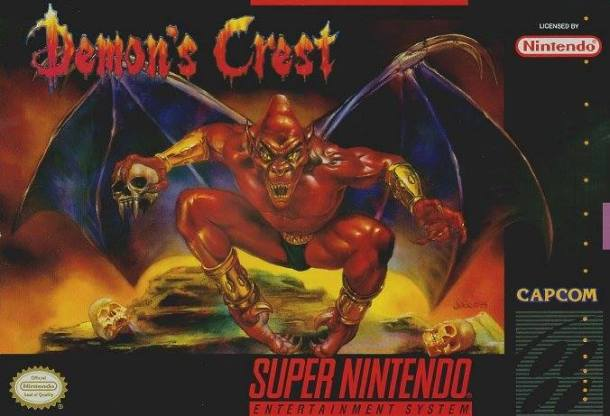 Demon's Crest Box Art
