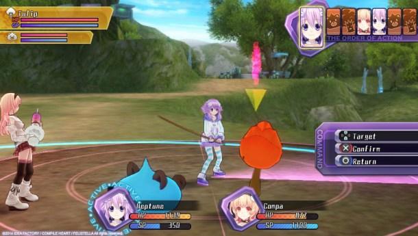 Hyperdimension Neptunia Re;Birth1 | Enemy