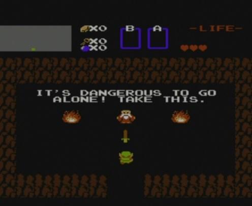 The Legend of Zelda | Dangerous Alone