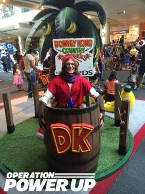 Red Link now available in Donkey Kong Barrels.