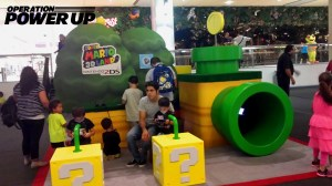 Super Mario 3D Land Booth