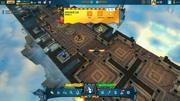 The Mighty Quest for Epic Loot | Castle Layout