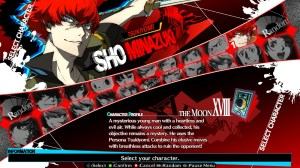 Persona 4 Arena Ultimax | Character Select
