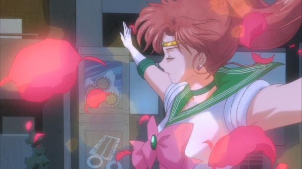 Sailor Moon Crystal Episode 5 | Makoto Flower Pose