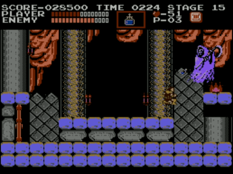 Castlevania | Holy Water on Death