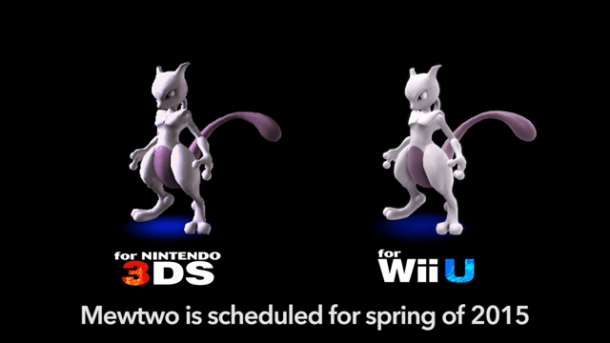 Smash Bros. Direct | Mewtwo Comparison